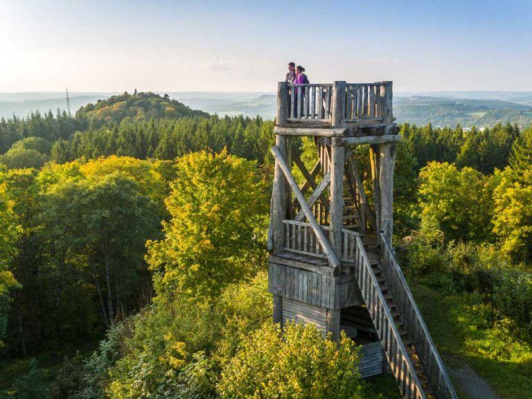 Aussichtsturm auf der Dietzenley © Eifel Tourismus GmbH, D. Ketz