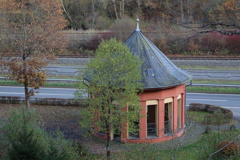 Pavillon Lindenquelle © Natur- und Geopark Vulkaneifel GmbH, A. Thewes