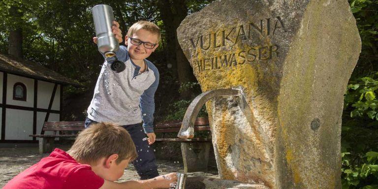 Vulkania-Heilquelle © Natur- und Geopark Vulkaneifel GmbH, Kappest