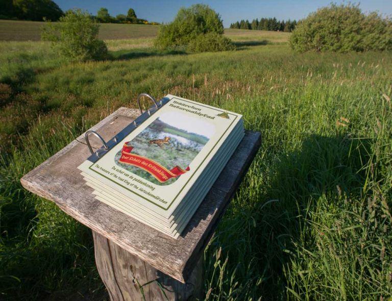 Infos zum Hetsche Maar © Natur- und Geopark Vulkaneifel GmbH, Kappest