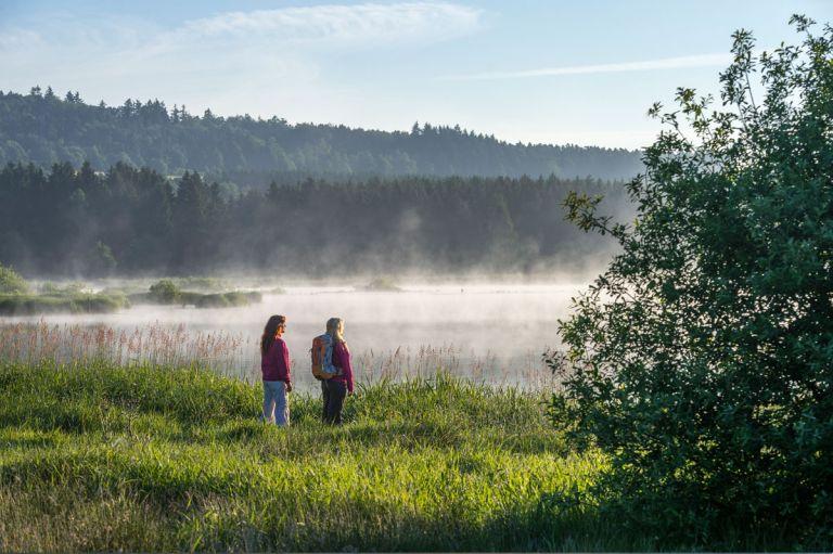 Nebel am Jungferweiher © Natur- und Geopark Vulkaneifel GmbH, Kappest