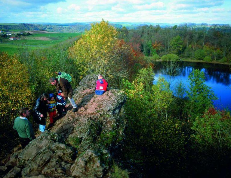 Schlackenfelsen am Windsborn © Natur- und Geopark Vulkaneifel GmbH