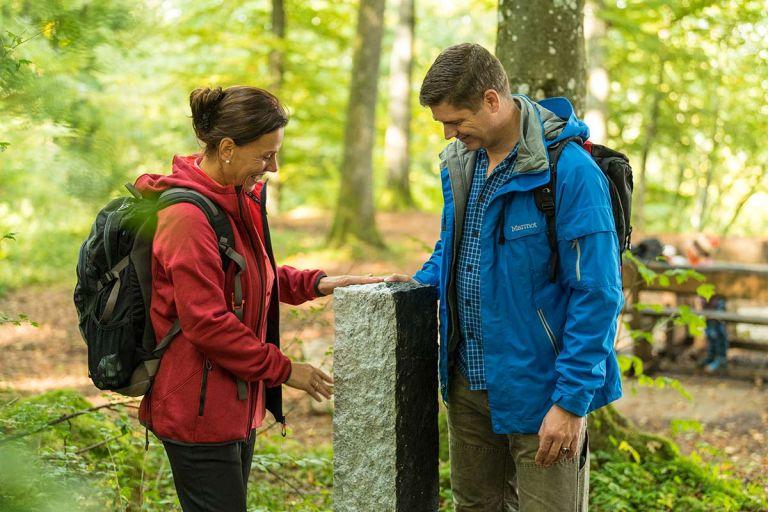 Wandern auf dem Schneifel-Pfad © Eifel Tourismus GmbH, D. Ketz